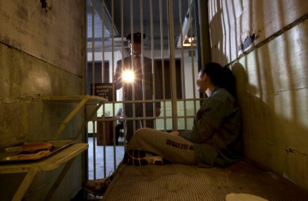 stay overnight in an alcatraz prison and catch the