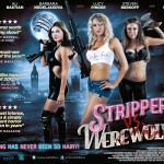 New Quad Poster for Jonathan Glendening's STRIPPERS VS WEREWOLVES