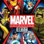 Marvel Animation 8 Film Complete Collection Available on DVD from 9th April