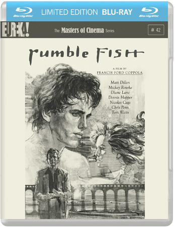 Eureka entertainment to release rumble fish on blu ray and for Rumble fish book