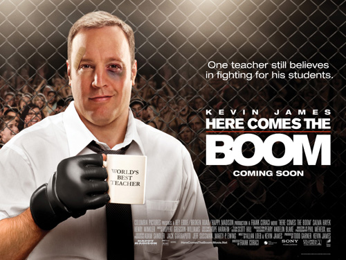 Songs used in the movie here comes the boom / Breaking bad