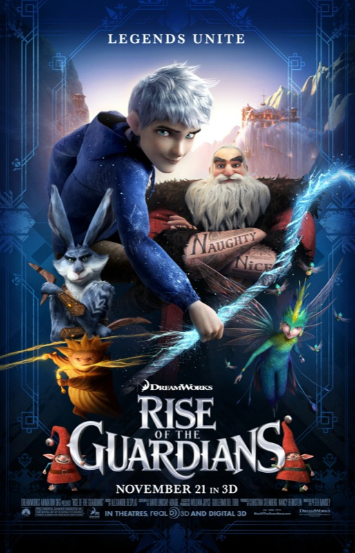 RISE OF THE GUARDIANS In Cinemas Now