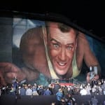 Studio Installs Massive Mural On Historic Movie Lot To Celebrate 25 Years of DIE HARD