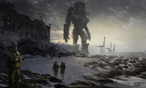 Awesome concept art revealed for guillermo del toro s pacific rim