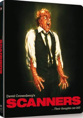Cronenberg's SCANNERS Explodes onto Blu-ray Steelbook on 8th April