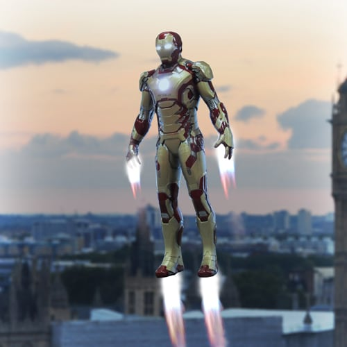 real iron man suit launches on fireboxcom horror cult films