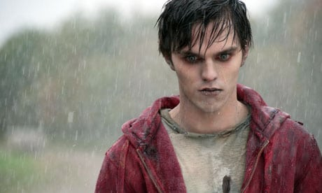 Nicholas Hoult in a scene from Warm Bodies.