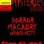 Grab Your Free 36-Page Surreal Murder Mysteries Taster Comic Courtesy of CDComics!