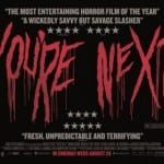 Another TV  spot warns that 'You're Next'