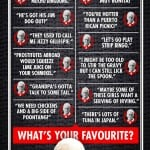 Hilarious Dirty Chat-Up Lines and Naughty Words In New Infographic for BAD GRANDPA