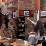 'Carrie' viral video see's New York coffee shop turned into a moment of terror