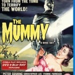 Peter Cushing and Christopher Lee's THE MUMMY Availanle Now on 3 Disc DVD and Blu-Ray Set in the UK