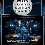 Win a Theatrical Quad Poster for ENDER'S GAME In Our Competition!