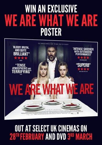 Win We Are What We Are Poster