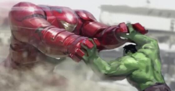 Iron Man's Hulk suit