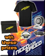 Win Need For Speed Merchandise