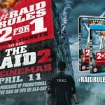 Grab 2 for 1 Cinema Deal for THE RAID 2 with Re-Release of THE RAID #RaidRules2For1