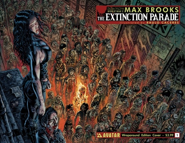 "TV: Max Brooks' zombie vs vampires ""Extinction Parade"" to be adapted into TV series"