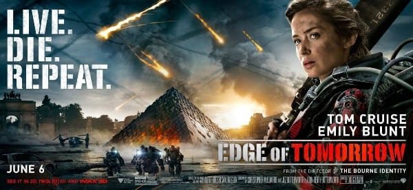 New banner released for sci-fi Edge of Tomorrow, starring Tom Cruise