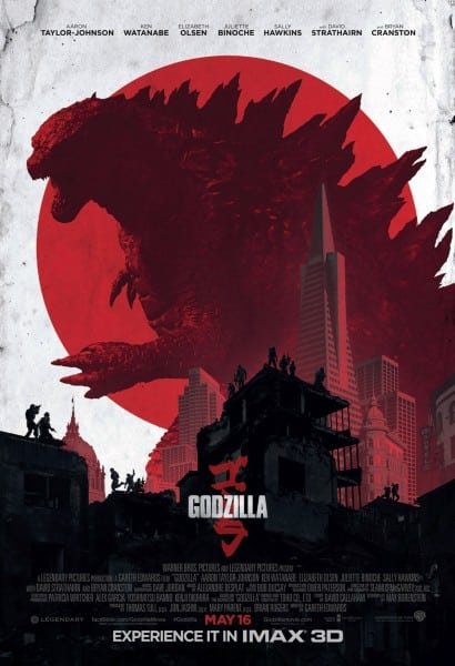 New IMAX poster and Japanese trailer released for Gareth Edwards' Godzilla