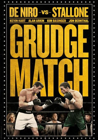 De Niro vs Stallone GRUDGE MATCH Set for Blu-Ray and DVD Release in UK on 2nd June 2014