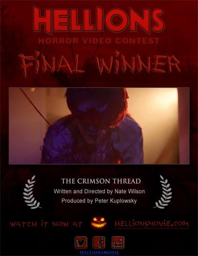 Winner of HELLIONS Horror Video Contest Announced