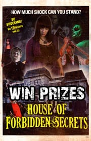Win House of Forbidden Secrets Merchandise