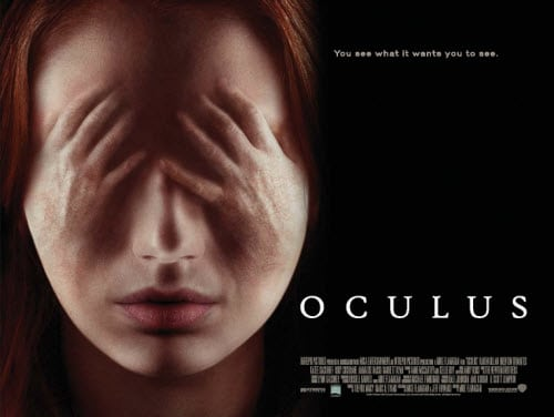 Official UK Poster and Trailer Revealed for Karen Gillan Horror OCULUS