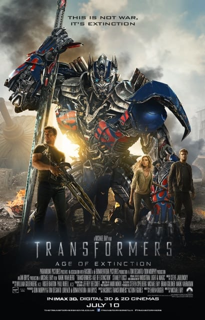 TRANSFORMERS: AGE OF EXTINCTION [2014]: in cinemas now  [THE HCF ALTERNATIVE REVIEW]
