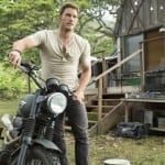 Images: 'Jurassic World' images focus on humans, and first look at Tom Hardy as The Krays in 'Legend'