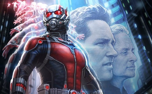 Comic-Con: Marvel reveals concept art posters for 'Ant-Man', 'The Avengers 2' plus mystery film added to 2018
