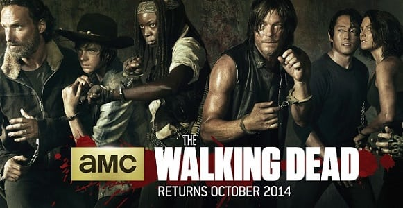TV: Official trailer for 'The Walking Dead Season 5'- It's not over till they're all dead!