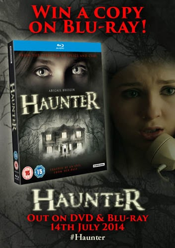 Win Haunter on Blu-Ray