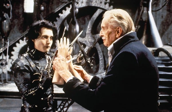 DEATH OF THE MONTH: EDWARD SCISSORHANDS [1990] - Vincent Price's Final On-Screen Moment