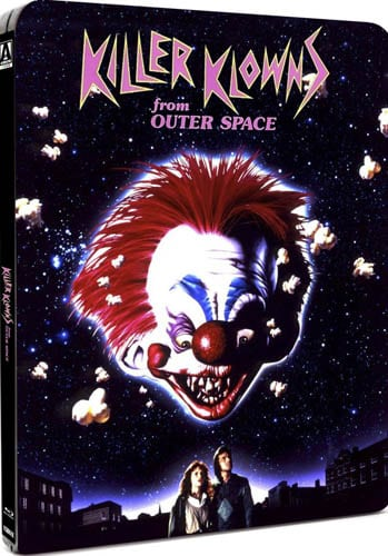 Win killer klowns from outer space steelbook and a 7 for Return of the killer klowns from outer space