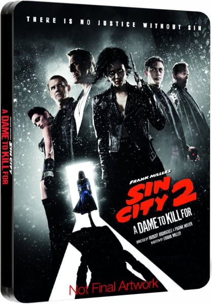 First 200 People To Pre-Order SIN CITY 2: A DAME TO KILL FOR Steelbook from Zavvi Get Jessica Alba Canvas Print