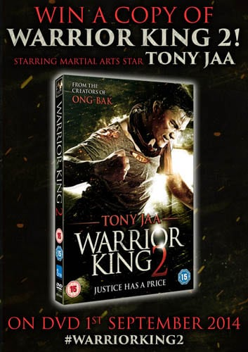 Win Warrior King 2 on DVD