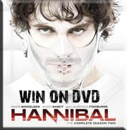 Win Hannibal Season 2 on DVD