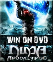 Win Ninja Apocalypse on DVD