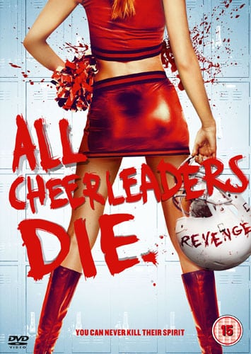 Win ALL CHEERLEADERS DIE on DVD In Our Competition!