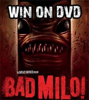Win Bad Milo! on DVD