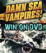 Win Damn Sea Vampires on DVD