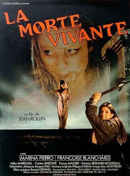 Dead Girl Film Living Dead Girl French Poster