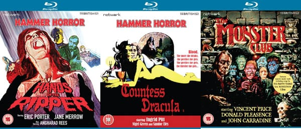Win THE MONSTER CLUB, HANDS OF THE RIPPER and COUNTESS DRACULA Blu-Ray Bundle In Our Competition!