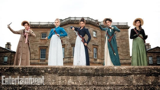 First image from 'Pride and Prejudice and Zombies' shows The Bennet Sisters ready to fight