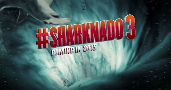 'Sharknado 3' to take on the US Eastern Seaboard, and wreck havoc on the 'feast' coast!