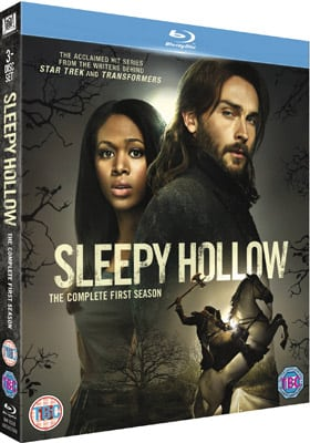 Win 1 of 2 Blu-Rays of SLEEPY HOLLOW - THE COMPLETE FIRST SEASON In Our Competition
