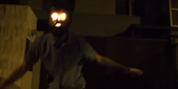 Here's an insane new clip from 'VHS-Viral'