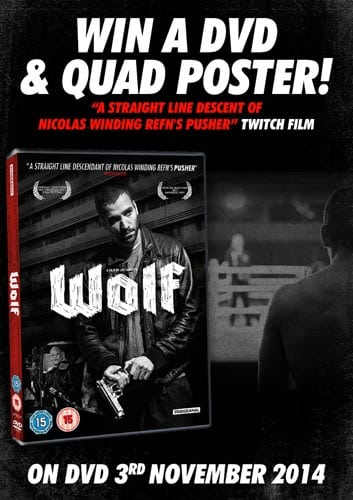 Win Wolf DVD and Poster