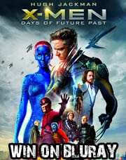 Win X-Men Days of Future Past on Bluray